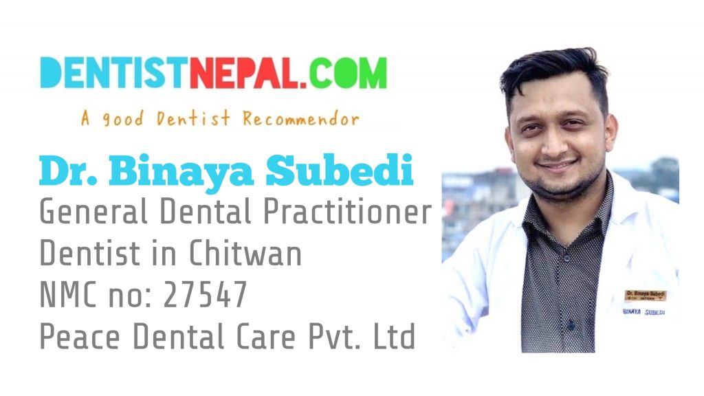 Dr Binaya Subedi Dental Tree Nepal Member