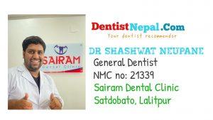 Dr Shashwat Neupane