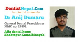 Dr Anij Dumaru Dental Tree Nepal member